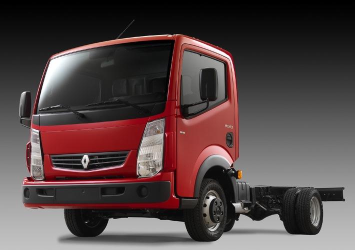 Renault Maxity ist der neue Lieferwagen von Renault Trucks
