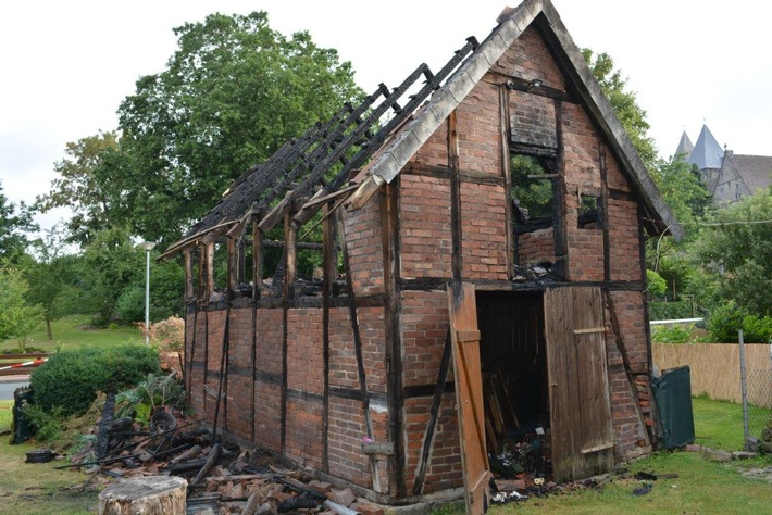 POL-NI: Scheunenbrand in Obernkirchen