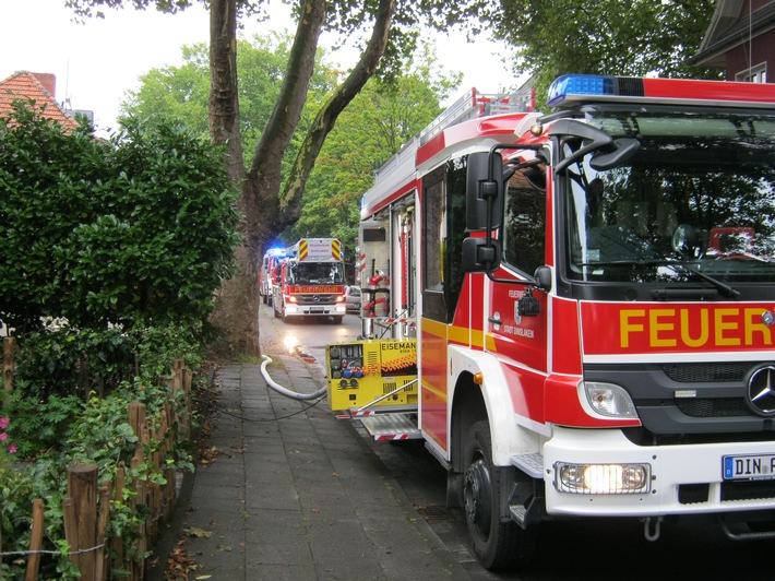 Brandeinsatz Bild 1