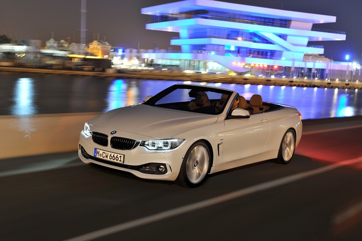 das neue bmw 4er cabrio bild presseportal. Black Bedroom Furniture Sets. Home Design Ideas