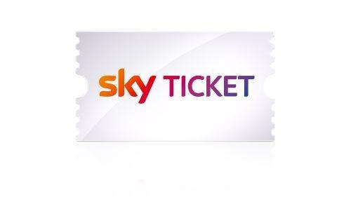 """Logo Sky Ticket Weiterer Text über ots und www.presseportal.de/nr/33221 / Die Verwendung dieses Bildes ist für redaktionelle Zwecke honorarfrei. Veröffentlichung bitte unter Quellenangabe: """"obs/Sky Deutschland"""""""