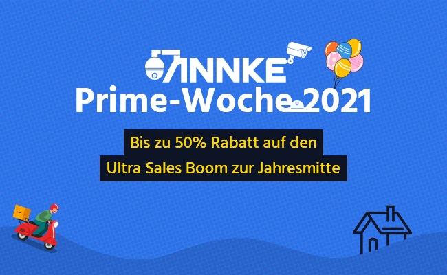 ANNKE Prime Day Sales 2021 - bis zu 50% Rabatt auf smarte Sicherheitslösungen weltweit (FOTO)