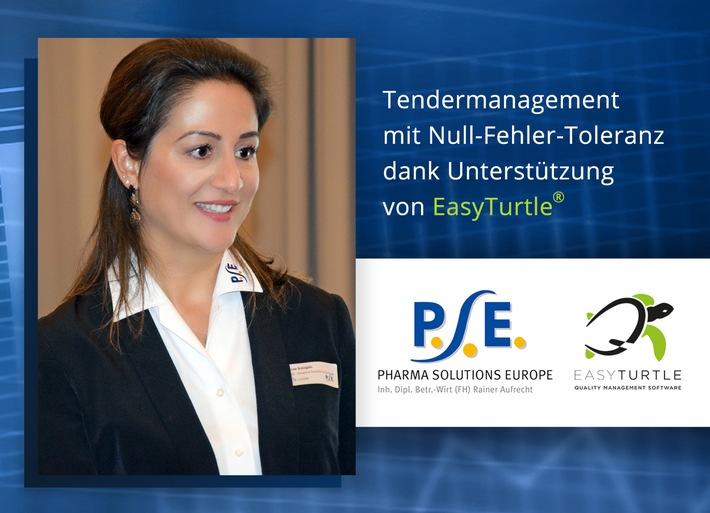 PSE - Pharma Solutions Europe: Tendermanagement mit Null-Fehler-Toleranz dank Qualitätsmanagement nach dem Turtle-Modell (FOTO)