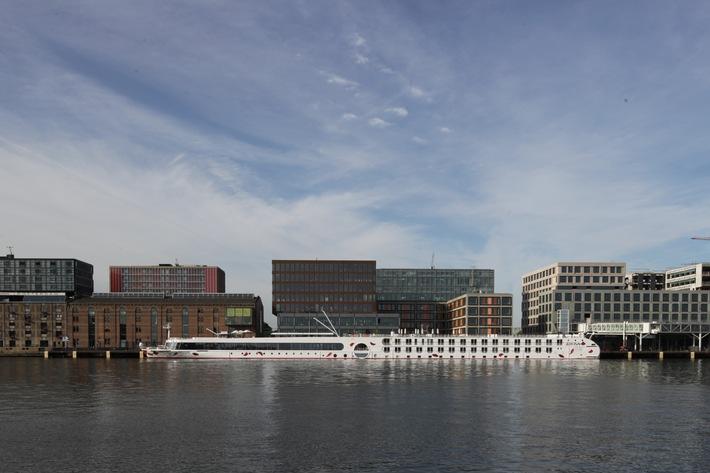 Hartelijk Welkom A-ROSA SILVA: Neues 10. Schiff wurde heute feierlich in Amsterdam getauft