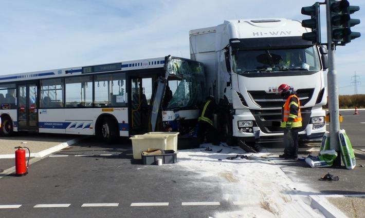 Foto von der Unfallstelle