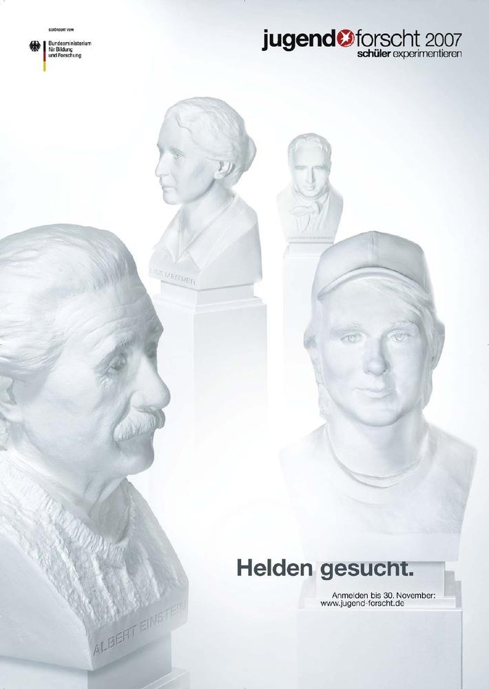 "Jugend forscht 2007: ""Helden gesucht!"""