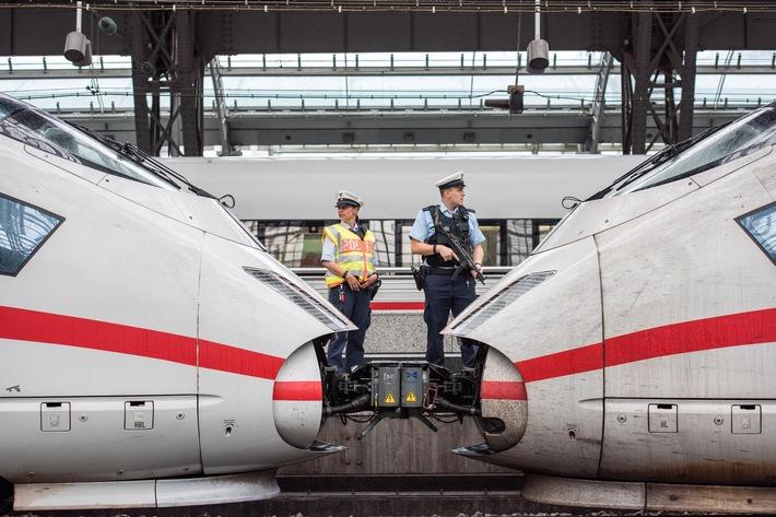 Symbolbild Streife Kölner Bundespolizei