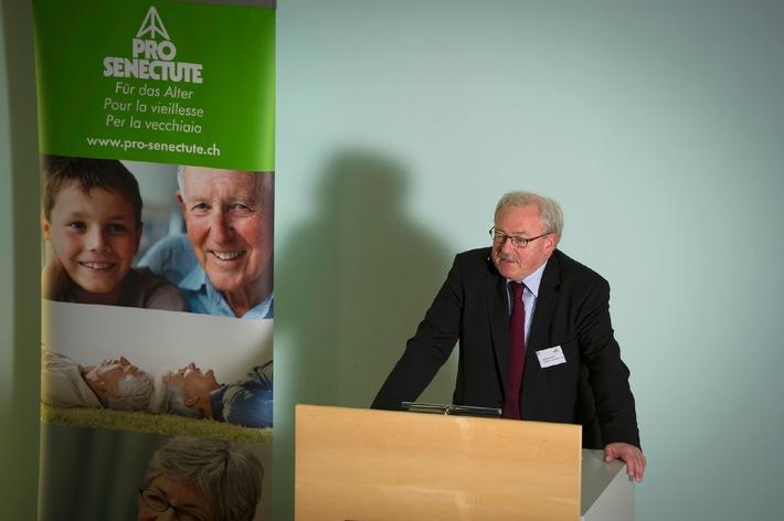 Assemblea della fondazione di Pro Senectute Svizzera all'insegna della politica-anziani (ALLEGATO)