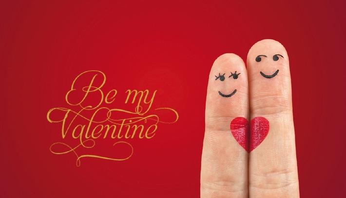 Be my Valentine! Ein besonderes Geschenk von dem BEIDE viel haben. - BILD