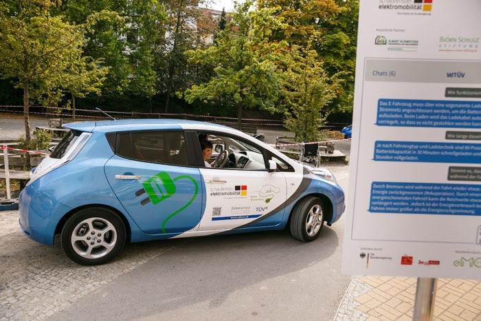 Schaufenster Elektromobilität der Bundesregierung (Foto: Thomas Rosenthal/ VdTÜV e.V.)
