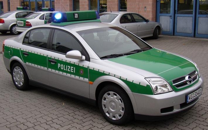 Neuer Polizeistreifenwagen