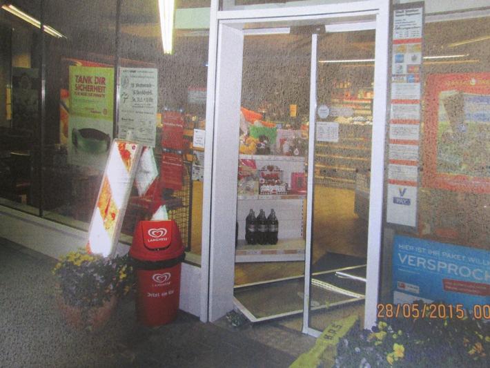 POL-SE: Geschendorf: Wieder Einbruch in Tankstelle an der A20