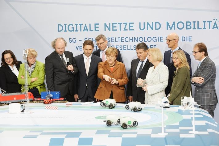 5G-Technologie inhaltlicher Schwerpunkt auf dem Nationalen IT-Gipfel 2015