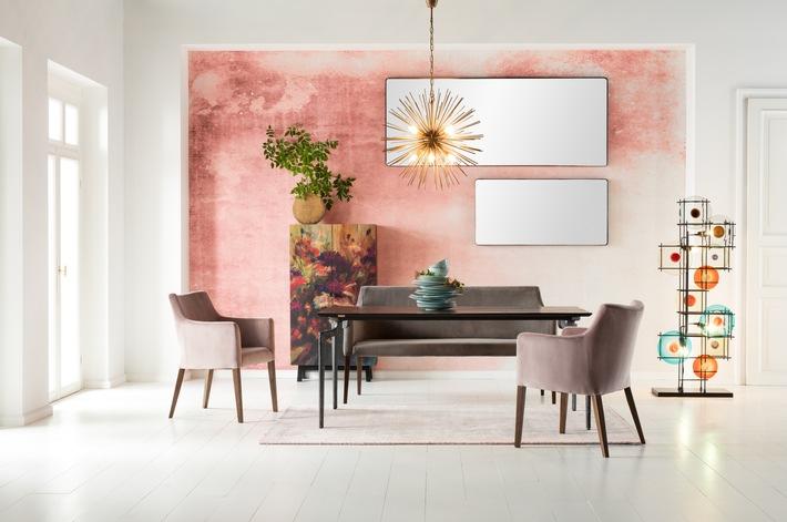 Blush Nennt Die Münchner Möbelmarke Kare Ihre Trendkollektion, Die Den  Landhaus Stil Urban Aufpeppt.