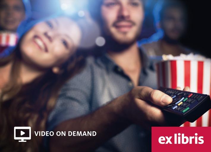 Ex Libris weitet das Video on Demand-Angebot aus