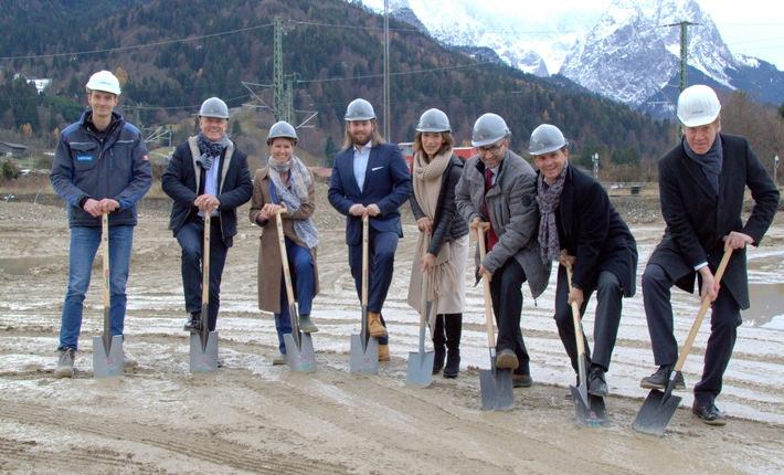 BPD feiert Spatenstich vor alpiner Kulisse