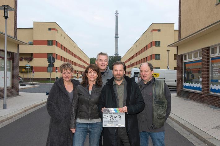 MDR startet Dreharbeiten zum neuen Polizeiruf mit Claudia  Michelsen und Matthias Matschke