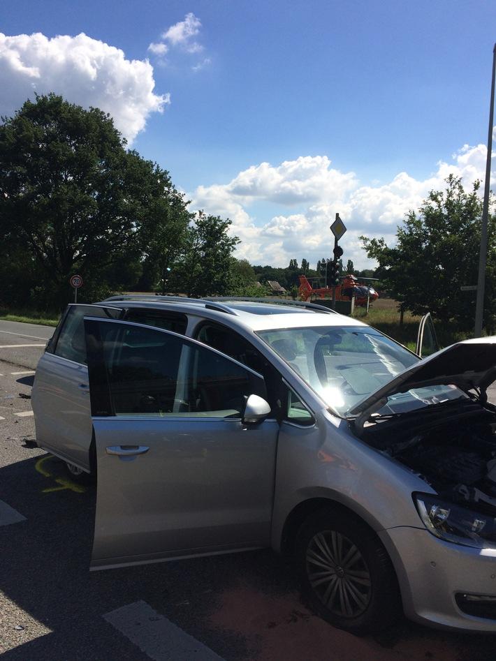 Unfall Oberhausener Str. / Brinkstr.
