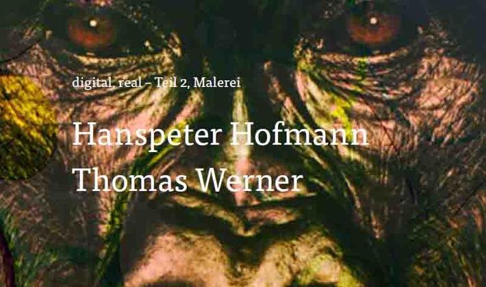 """Kunst & Nachhaltigkeit Vol. 10: Digital, real, Teil 2: Hanspeter Hofmann / Thomas Werner Weiterer Text über ots und www.presseportal.ch/de/nr/100058338 / Die Verwendung dieses Bildes ist für redaktionelle Zwecke honorarfrei. Veröffentlichung bitte unter Quellenangabe: """"obs/Mobiliar Versicherungen/zvg die Mobiliar"""""""