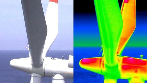 Zu warm oder zu kalt? Thermografische Verfahren können mittels berührungsloser Infrarottechnik Aufschlüsse darüber geben und so Qualitätsmängel an Materialien aufdecken. Quelle: BAM