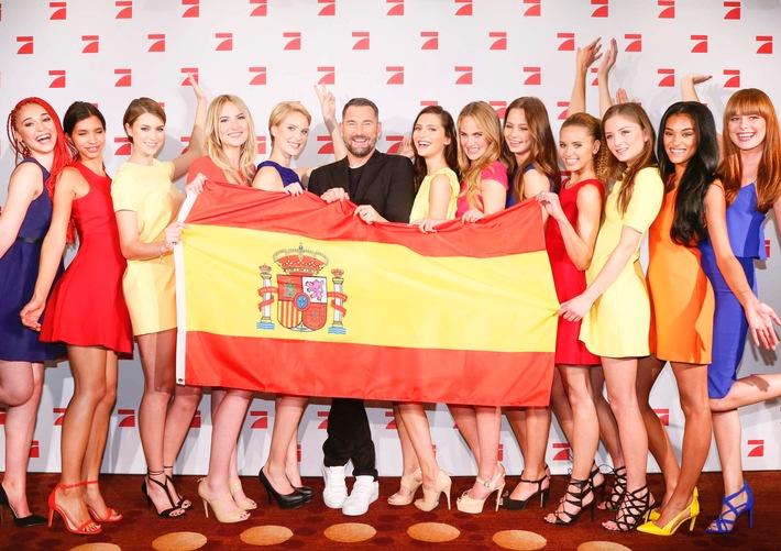 Wetten, dass das riesig wird: Superstar Sean Paul heizt beim #GNTMFinale im Coliseo Balear ein