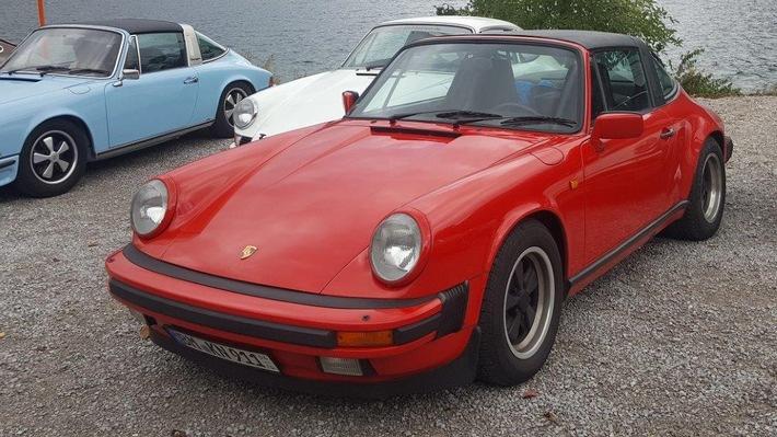 Bild des gestohlenen Porsche.
