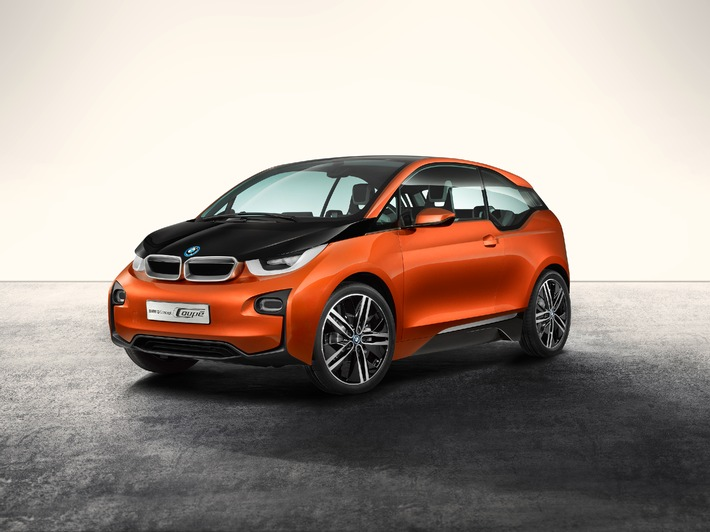 "The new BMW i3 (market start end of 2013) sets new standards in the field of lightweight construction / Use of picture is free of charge. Please quote: ""obs/BMW Group"""