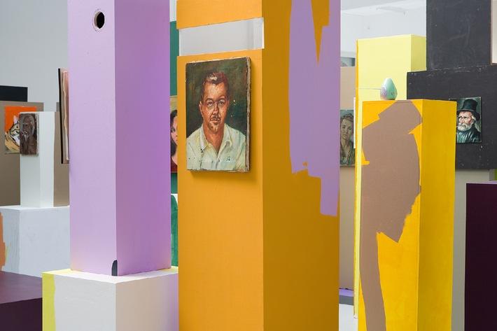 migros_museum_collection_harrison Rachel Harrison, Trees for the Forest, 2007, Sammlung Migros Museum für Gegenwartskunst Foto: Stefan Altenburger