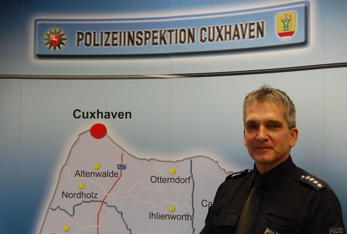 POL-CUX: Neuer Chef im Einsatz- und Streifendienst Cuxhaven
