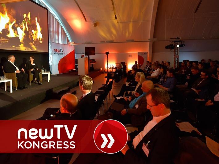 """""""Business Innovation On Screen"""" - Bewegtbild von morgen beim newTV Kongress 2016"""
