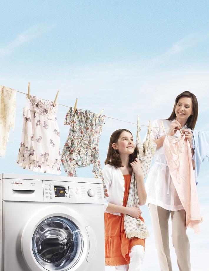 Die Niedrigtemperatur-Offensive: Bosch EcoWash Sondermodelle waschen extra sanft, sauber und energiesparend (mit Bild)