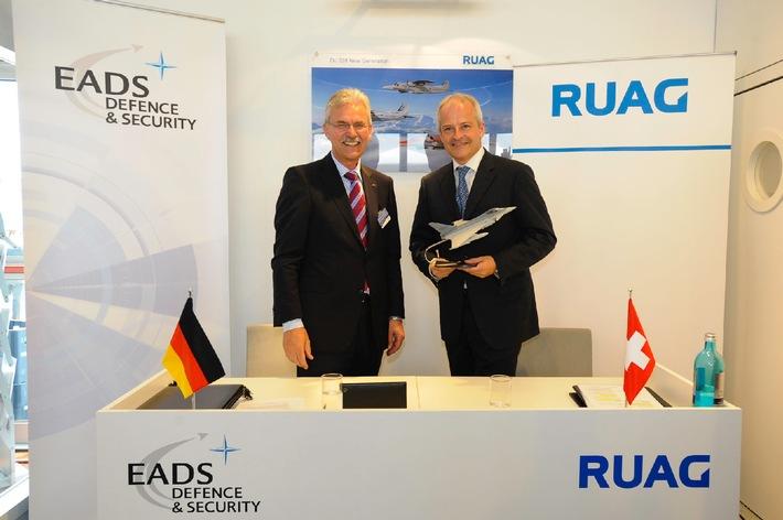 RUAG und EADS Defence & Security bauen strategische, industrielle und technologische Zusammenarbeit aus