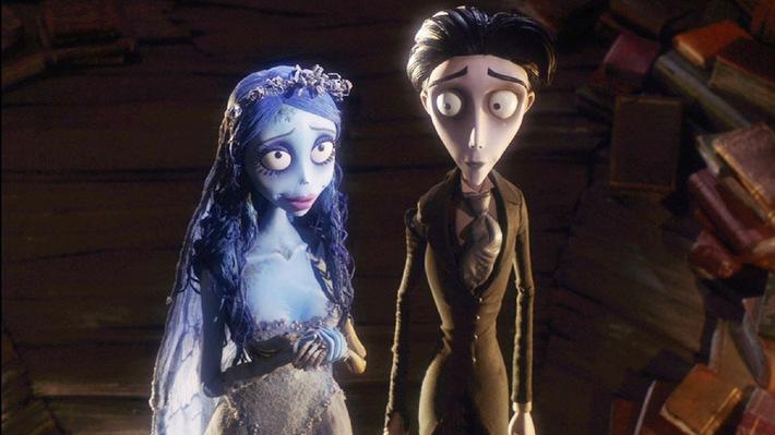 """Tim Burton: """"Ich empfand meine Umwelt wie die Nacht der lebenden Toten"""" - Free-TV-Premiere auf Tele 5: 'Corpse Bride - Hochzeit mit einer Leiche', Sa., 27.09, 20.15 Uhr"""