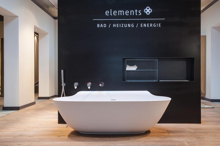 in ELEMENTS-Check: Wertvolle WerkstoffeWie Keramik, Acryl, Mineralguss, Mineralwerkstoff und Stahlemail Glanz in Deutschlands Bäder bringen