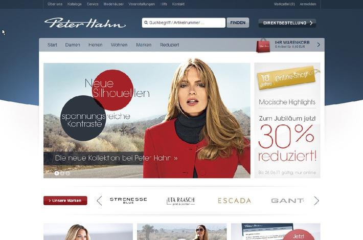 ▷ 10 Jahre Online-Shop - Modeunternehmen Peter Hahn feiert mit ...