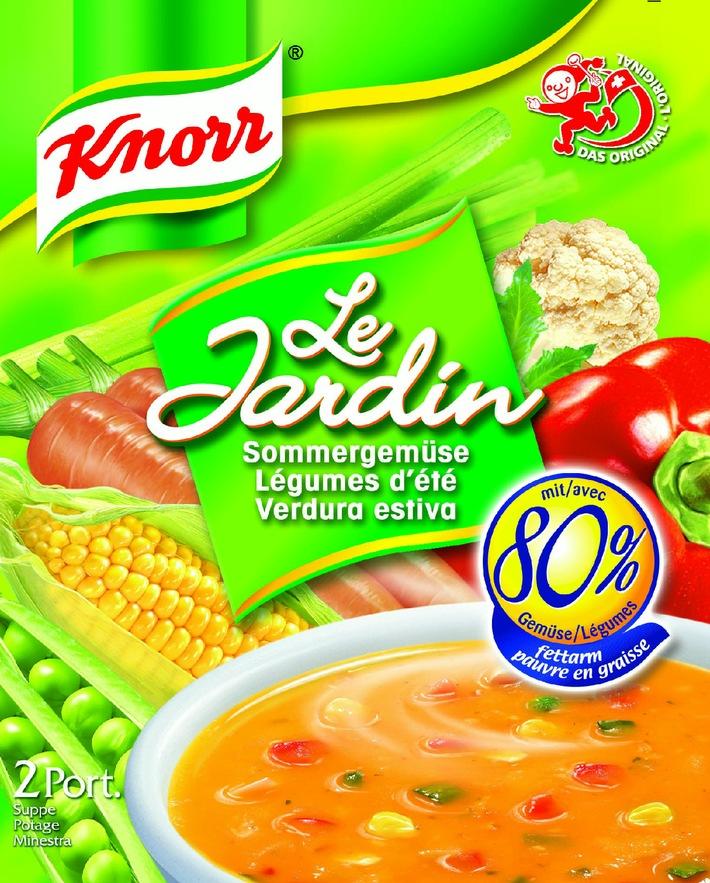 """Suppen machen fit - Leicht gemacht mit KNORR """"Le Jardin"""""""