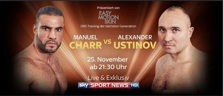 Manuel Charr greift nach den Sternen: sein Kampf um die Weltmeisterschaft im Schwergewicht am Samstag live und exklusiv auf Sky Sport News HD