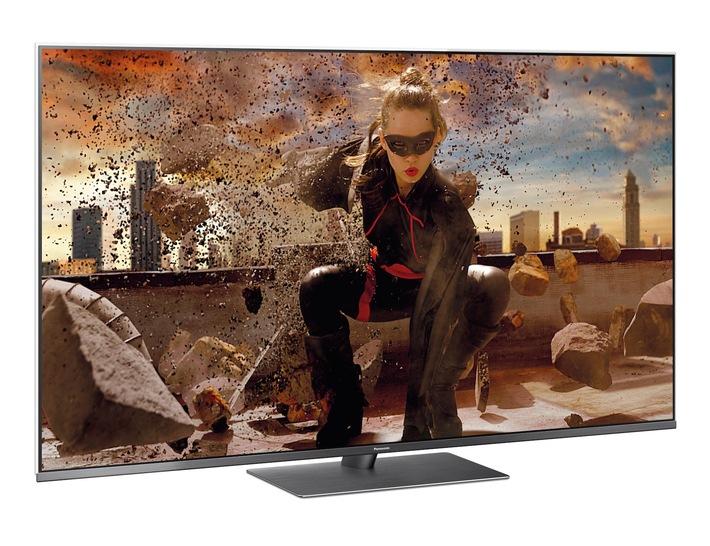 """Panasonic TV FXW784 / Weiterer Text über ots und www.presseportal.de/nr/14151 / Die Verwendung dieses Bildes ist für redaktionelle Zwecke honorarfrei. Veröffentlichung bitte unter Quellenangabe: """"obs/Panasonic Deutschland"""""""