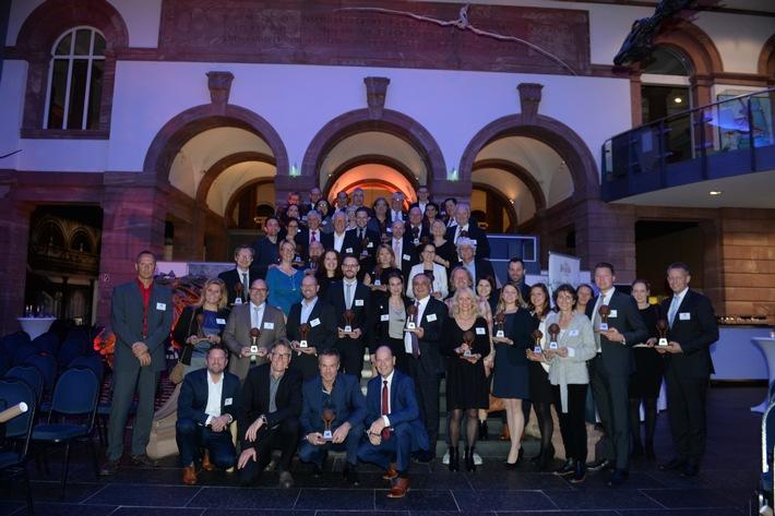 Hannes Jaenicke und 38 Marken als GREEN BRANDS Germany 2017 ausgezeichnet