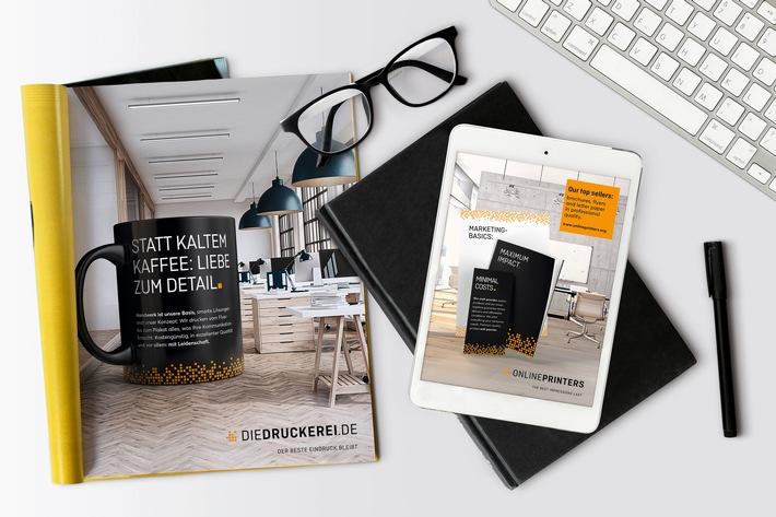 Heldenhaft: Drucksachen stehen im Mittelpunkt Onlineprinters-Werbeetat geht an Gley Rissom Thieme