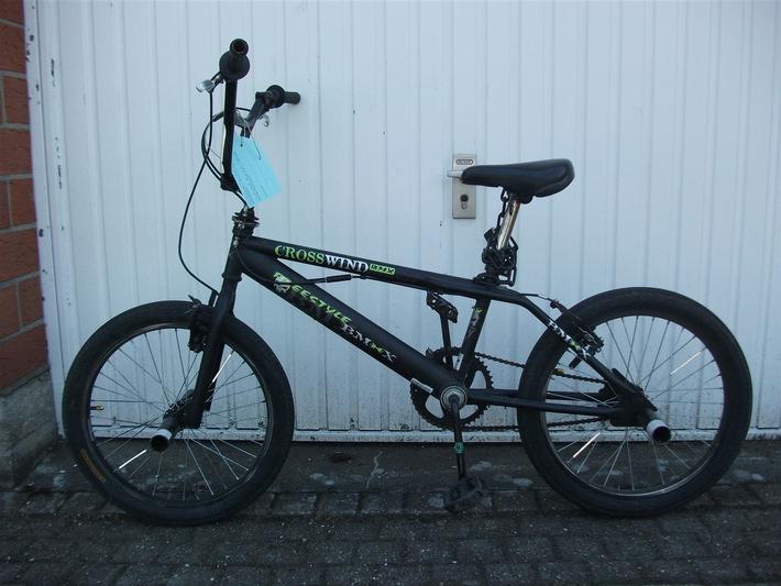 Wem gehört das BMX-Rad? Hinweise an die Kripo unter Tel. 02131 3000.