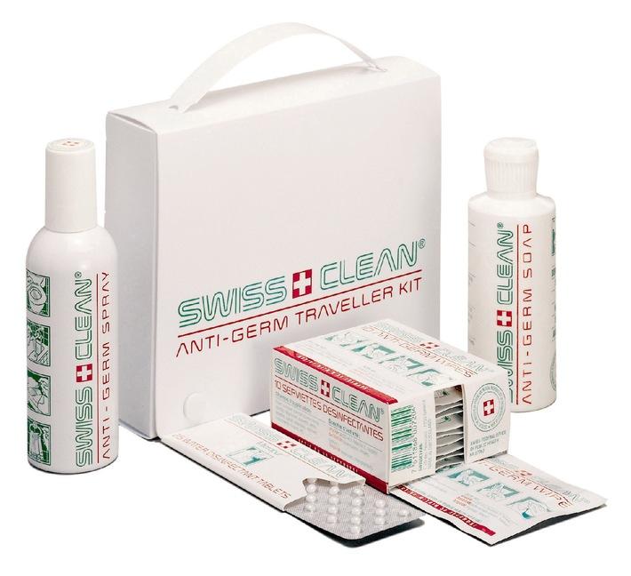 Pneumonie atypique SRAS: explosion des ventes du kit anti-germes pour voyageurs de Swissclean