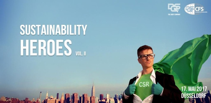 4. DQS Nachhaltigkeitskonferenz 2017 / Von Helden des Nachhaltigkeitsmanagements lernen