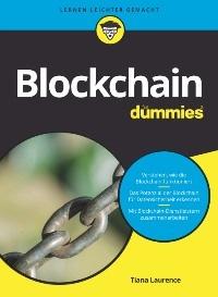 """Cover """"Blockchain für Dummies"""""""