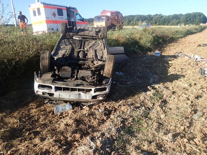 Verkehrsunfall mit leichtverletzten Personen, Fürfeld