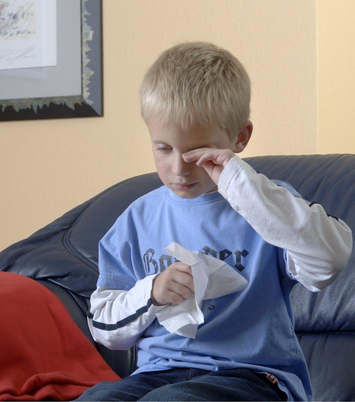 """Besonders Kinder sind von Allergien betroffen / Weiterer Text über ots und www.presseportal.de/nr/54519 / Die Verwendung dieses Bildes ist für redaktionelle Zwecke honorarfrei. Veröffentlichung bitte unter Quellenangabe: """"obs/ISOTEC GmbH"""""""