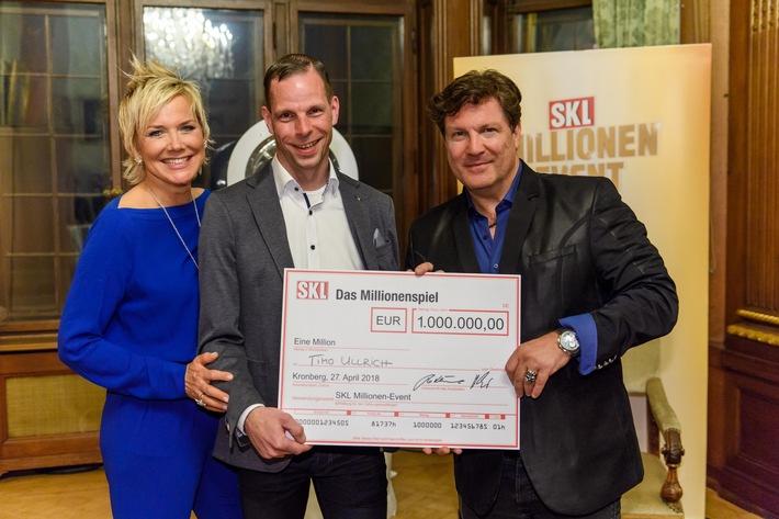 Bremer gewinnt beim SKL Millionen-Event / Neuer SKL-Millionär will sich etwas ganz Besonderes leisten (FOTO)