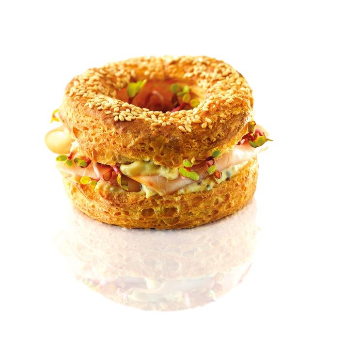 Le Loop - die neue Sandwich-Innovation der Migros-Gastronomie