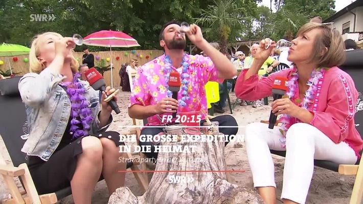Strandparty In Der Kurpfalz Die Grosse Expedition In Die Heimat Im Swr Fernsehen Presseportal