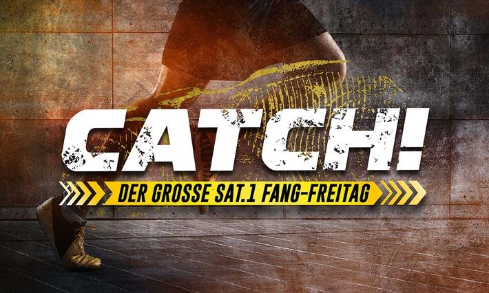 """""""Hab Dich!"""" Luke Mockridge wird zum Jäger in der neuen SAT.1-Sport-Event-Show """"CATCH! Der große SAT.1 Fang-Freitag"""" (FOTO)"""